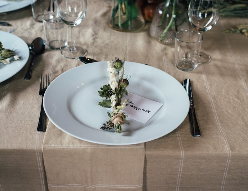 Eco-Friendly Wedding Glassware and Cutlery Guide