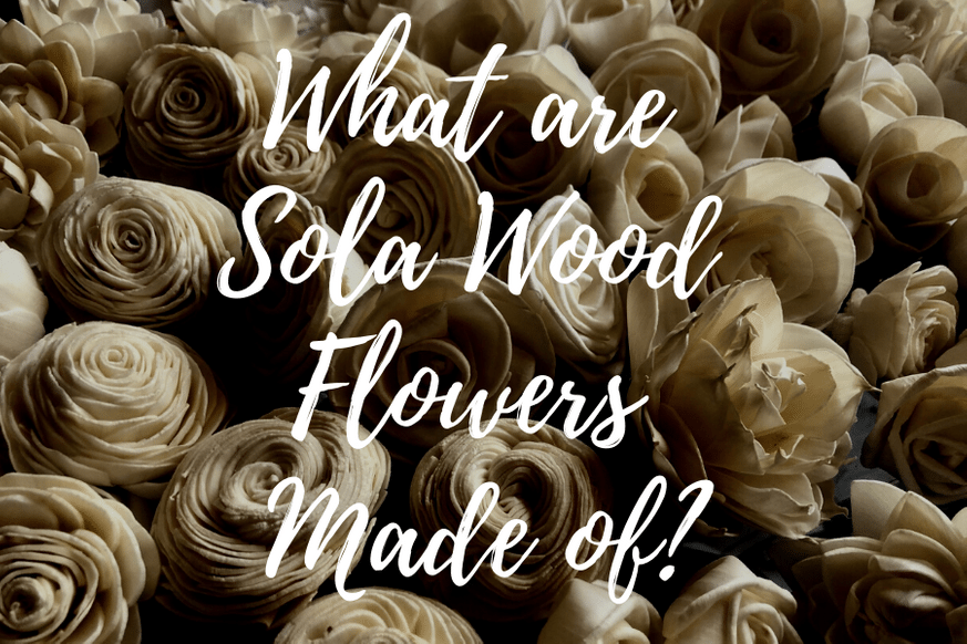 What Are Sola Wood Flowers Made of?