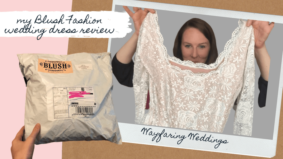 My Blush Fashion Wedding Dress Under $300 | Review & Try-On