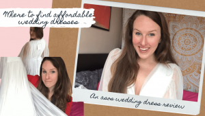 My ASOS Wedding Dress Under $200 | Review & Try-On