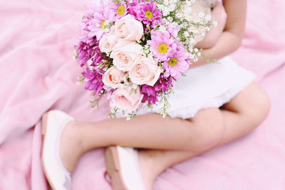 Be a Flower Girl (or Boy) at ANY Age